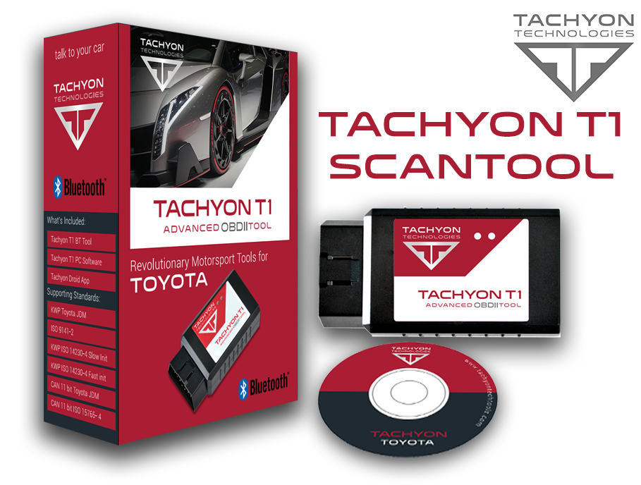 T100 BT - OBDII Bluetooth Scan Tool for Toyota